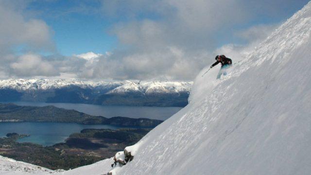 Cerro Boya in the Powder
