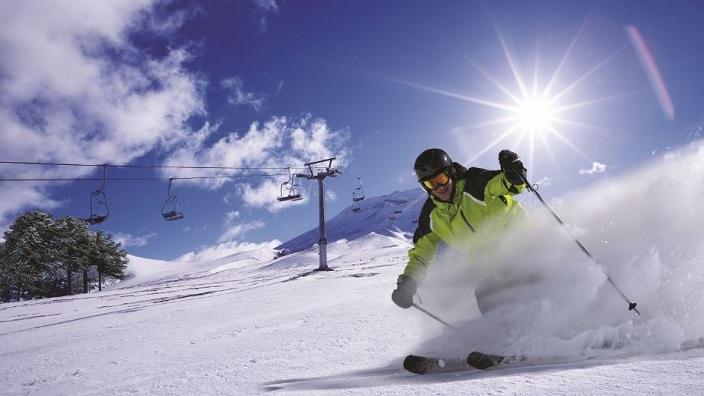 Corralco Skier 1