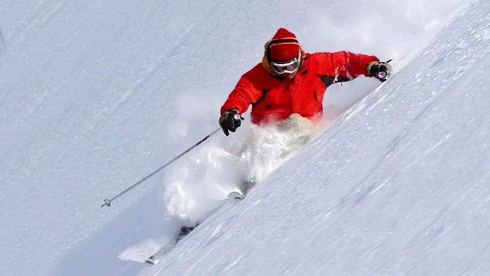 Corralco Skier 2